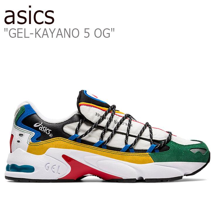 アシックス スニーカー asics メンズ GEL-KAYANO 5 OG ゲルカヤノ5 OG WHITE ホワイト MULTI マルチ 1021A282-100 シューズ