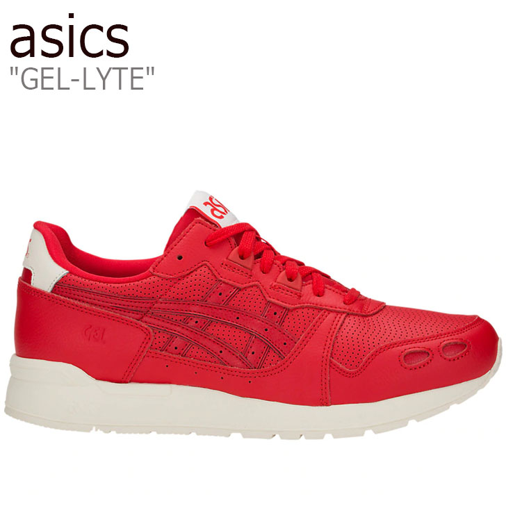 アシックス スニーカー asics メンズ レディース GEL-LYTE ゲルライト CLASSIC クラシック RED レッド 1191A084-600 シューズ