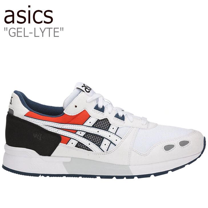アシックス スニーカー asics メンズ レディース GEL-LYTE ゲルライト WHITE ホワイト H825Y-0101 シューズ
