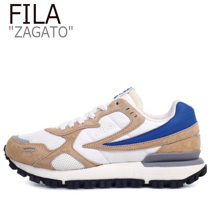 フィラ スニーカー FILA メンズ レディース ZAGATO ザガト BEIGE ベージュ 1GM00849-920 シューズ