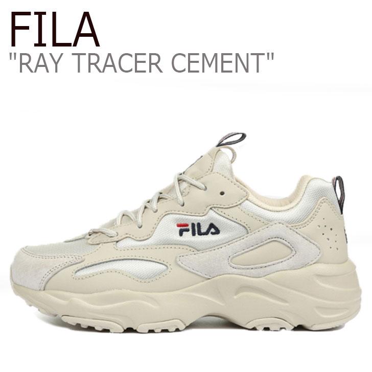 フィラ レイ スニーカー FILA メンズ RAY TRACER CEMENT レイトレーサー セメント GREY グレー 1RM01016-077 シューズ