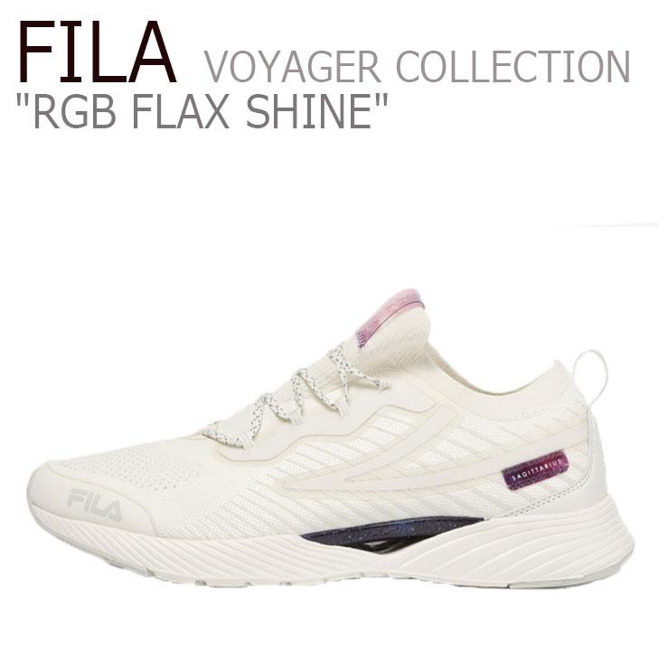 フィラ スニーカー FILA メンズ レディース RGB FLAX SHINE VOYAGER COLLECTION RGB フラックス シャイン ボイジャーコレクション BEIGE ベージュ 1RM01311-920 シューズ