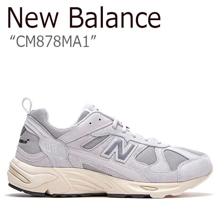 ニューバランス 878 スニーカー New Balance メンズ レディース CM 878 MA1 new balance 878 LIGHT GRAY ライト グレー NBPDAS178L CM878MA1 シューズ 【中古】未使用品