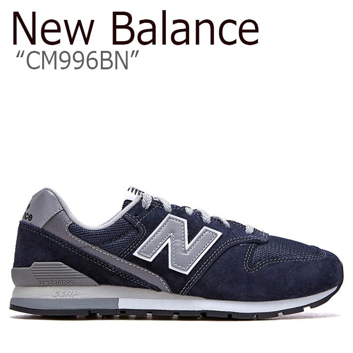 ニューバランス 996 スニーカー New Balance メンズ レディース CM 996 BN new balance 996 NAVY ネイビー NBPDAS184N CM996BN シューズ 【中古】未使用品