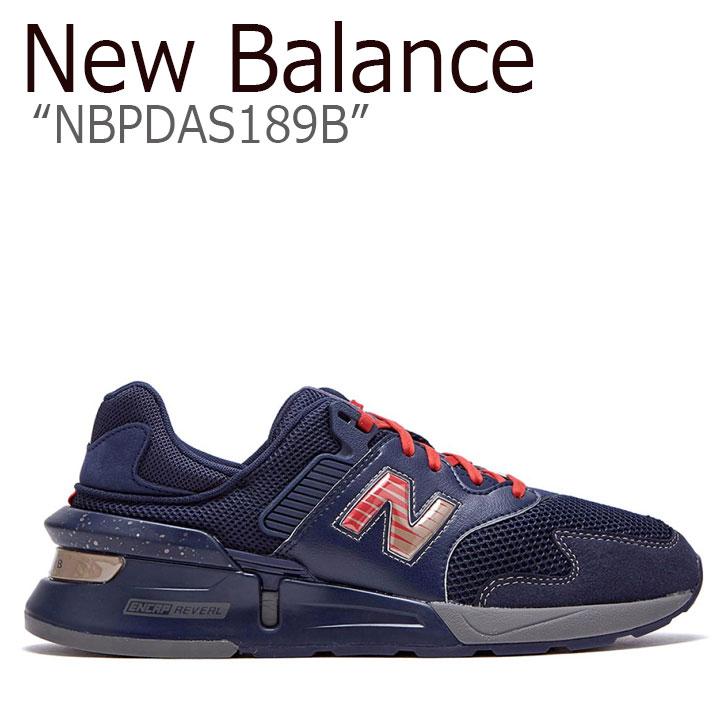 ニューバランス 997 スニーカー New Balance メンズ new balance 997 SPORT INSPIRE THE DREAM スポーツ インスパイア ザ ドリーム BLACK ブラック NAVY ネイビー RED レッド NBPDAS189B シューズ 【中古】未使用品