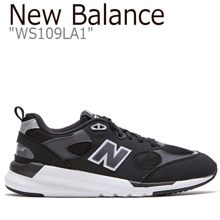 ニューバランス 109 スニーカー New Balance レディース WS 109 LA1 new balance 109 BLACK ブラック FLNBAA1W32 WS109LA1 シューズ 【中古】未使用品
