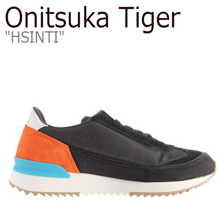 オニツカタイガー スニーカー Onitsuka Tiger メンズ レディース HSINTI ヘシンティ BLACK ブラック 1183A387-002 シューズ