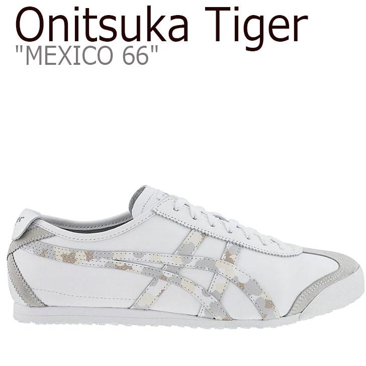 オニツカタイガー メキシコ 66 スニーカー Onitsuka Tiger メンズ レディース MEXICO 66 メキシコ 66 WHITE ホワイト MID GREY ミッド グレー 1183A941-101 シューズ