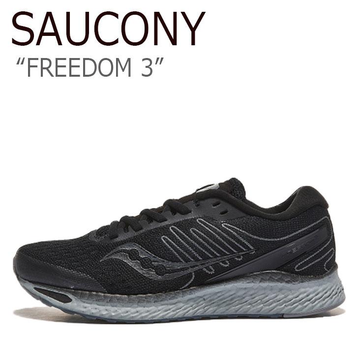 サッカニー スニーカー SAUCONY メンズ レディース FREEDOM 3 フリーダム 3 BLACKOUT ブラックアウト S10543-35 シューズ