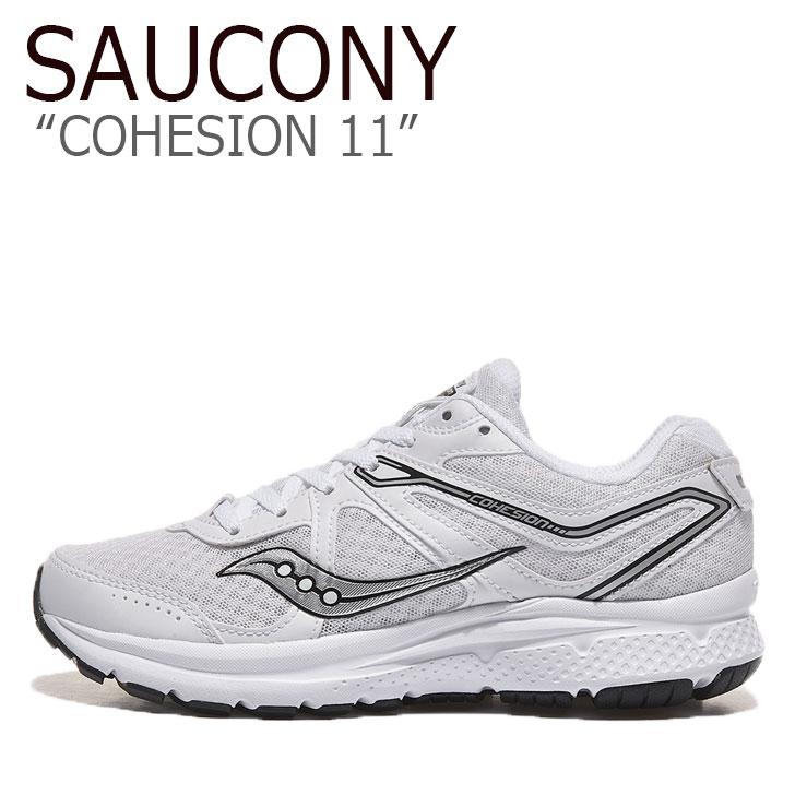サッカニー スニーカー SAUCONY メンズ レディース COHESION 11 コヒージョン WHITE ホワイト S20421-20 シューズ