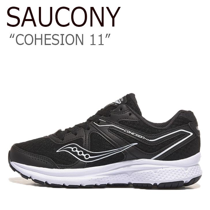 サッカニー スニーカー SAUCONY メンズ レディース COHESION 11 コヒージョン BLACK ブラック S20421-21 シューズ