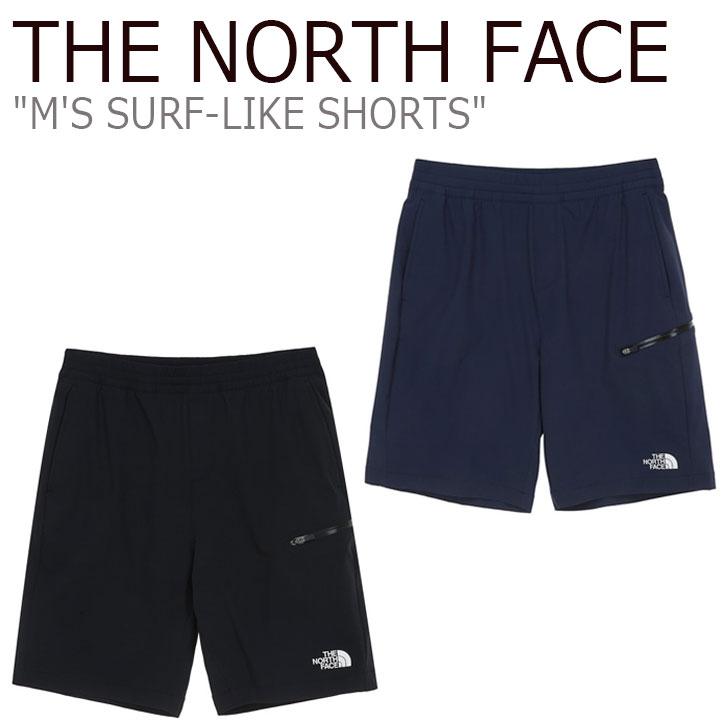 ノースフェイス ハーフパンツ THE NORTH FACE メンズ M'S SURF-LIKE SHORTS サーフ ライク ショーツ BLACK ブラック NAVY ネイビー NS6NL05J/K ウェア 【中古】未使用品