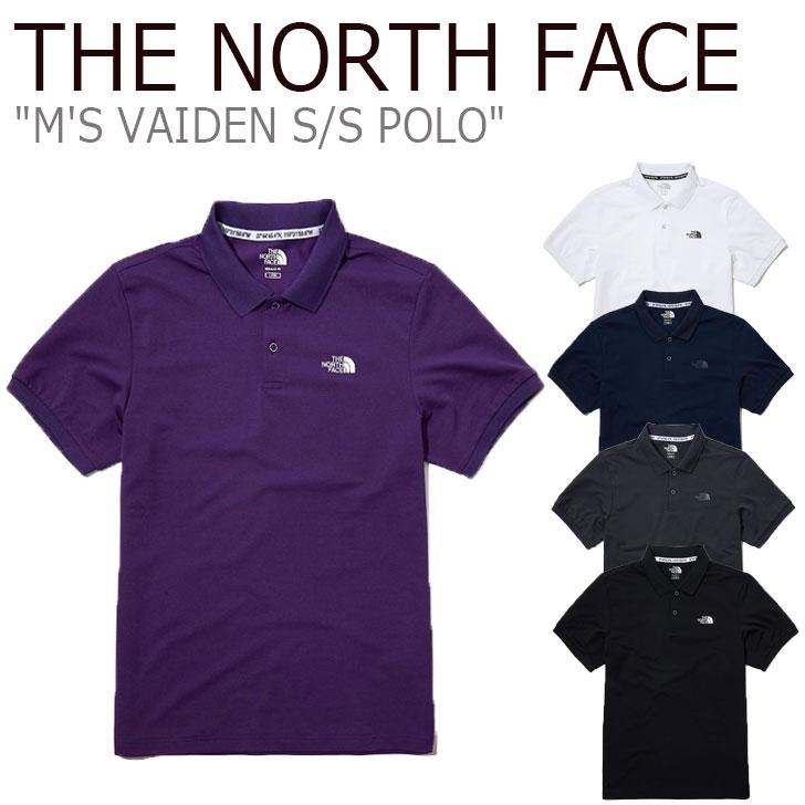 ノースフェイス ポロシャツ THE NORTH FACE メンズ M'S VAIDEN S/S POLO ヴァイデン ショートスリーブ ポロ VIOLET バイオレット BLACK ブラック WHITE ホワイト NAVY ネイビー GRAY グレー NT7PL02J/K/L/M/N ウェア 【中古】未使用品