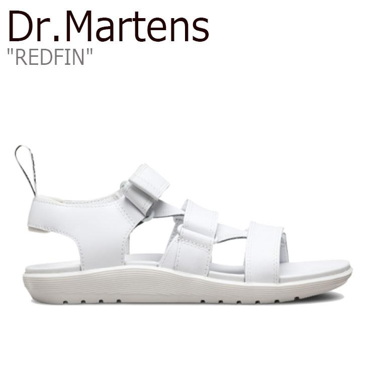 ドクターマーチン サンダル Dr.Martens レディース REDFIN レッドフィン WHITE ホワイト 23847100 シューズ【中古】未使用品
