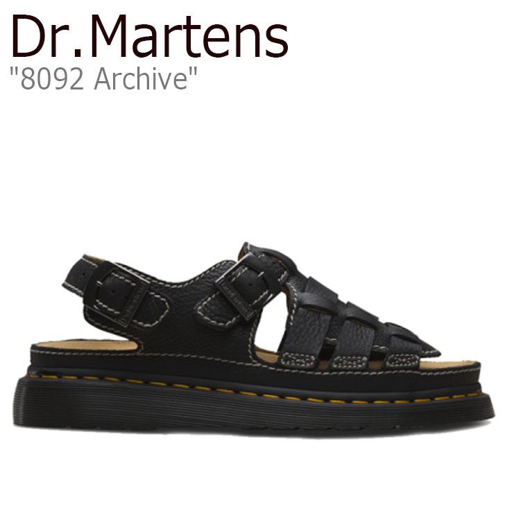 ドクターマーチン サンダル Dr.Martens メンズ 8092 Archive アーカイブ BLACK ブラック 24830001 シューズ【中古】未使用品