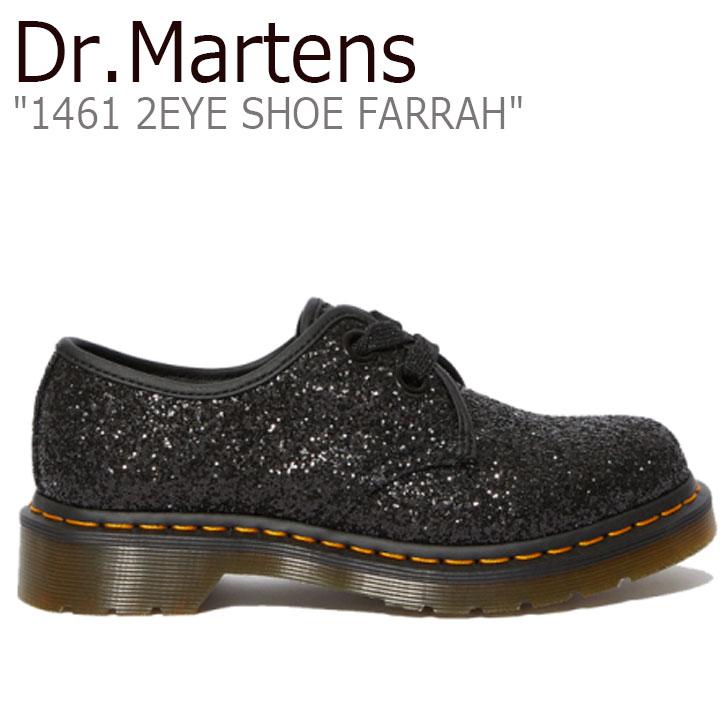 ドクターマーチン スニーカー Dr.Martens レディース 1461 2EYE SHOE FARRAH 1461 2ホール シュー ファラー BLACK ブラック 25141001 シューズ【中古】未使用品