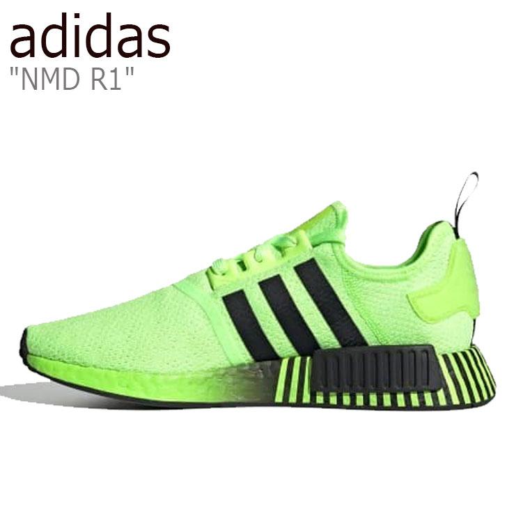 アディダス スニーカー adidas メンズ レディース NMD R1 エヌエムディー R1 GREEN グリーン FV3647 シューズ【中古】未使用品