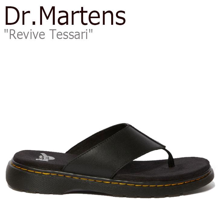 ドクターマーチン リバイブ BLACK サンダル TESSARI 25446001 Dr.Martens テッサリ REVIVE シューズ メンズ ブラック 【中古】未使用品