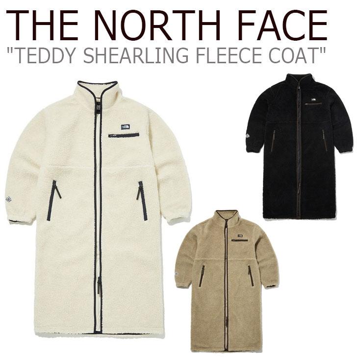 フリース ノースフェイス THE NORTH FACE メンズ レディース TEDDY SHEARLING FLEECE COAT テディー シアリング フリースコート CAMEL キャメル BLACK ブラック NC4FL50A/B ウェア 【中古】未使用品