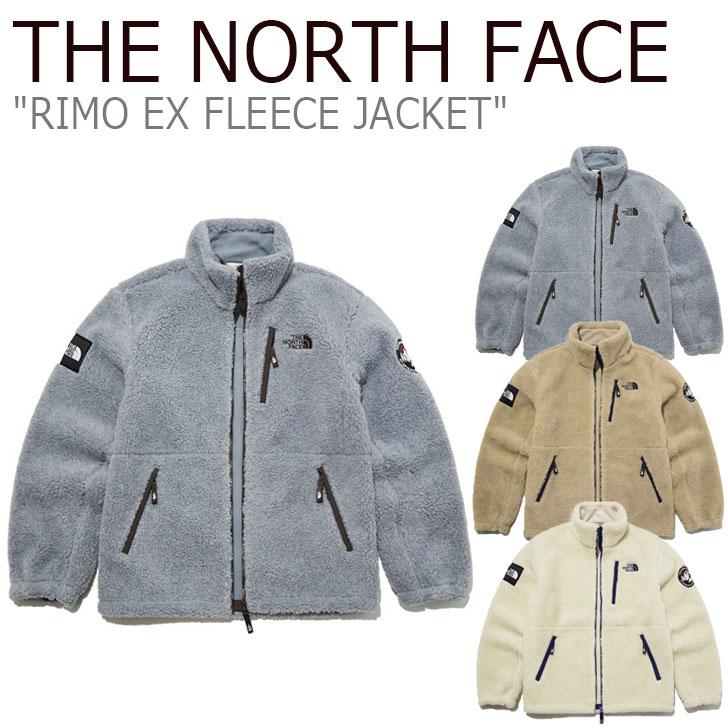 フリース ノースフェイス THE NORTH FACE メンズ レディース RIMO EX FLEECE JACKET リモ EX フリースジャケット 全3色 NJ4FL64J/K/L ウェア 【中古】未使用品