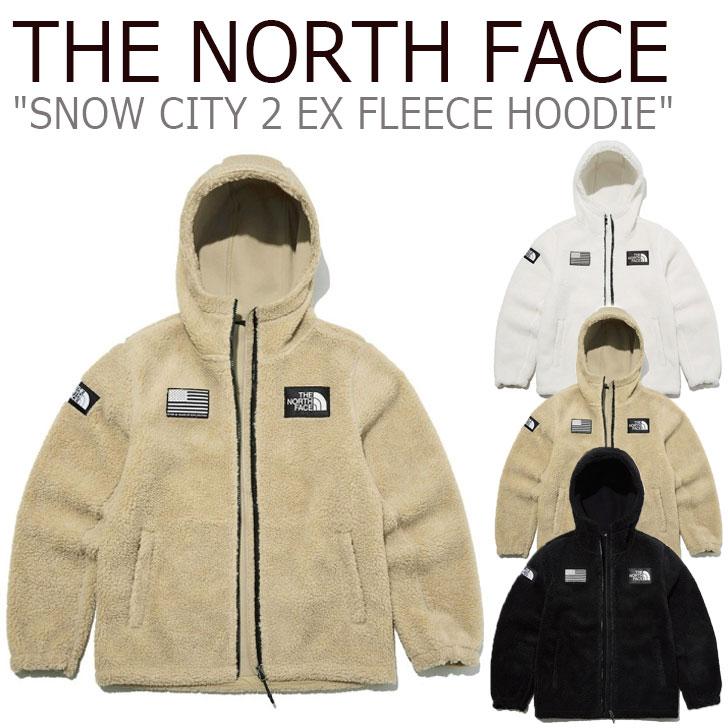 フリース ノースフェイス THE NORTH FACE メンズ レディース SNOW CITY 2 EX FLEECE HOODIE スノー シティ 2 EX フリースフーディー 全3色 NN4FL58A/B/C ウェア 【中古】未使用品