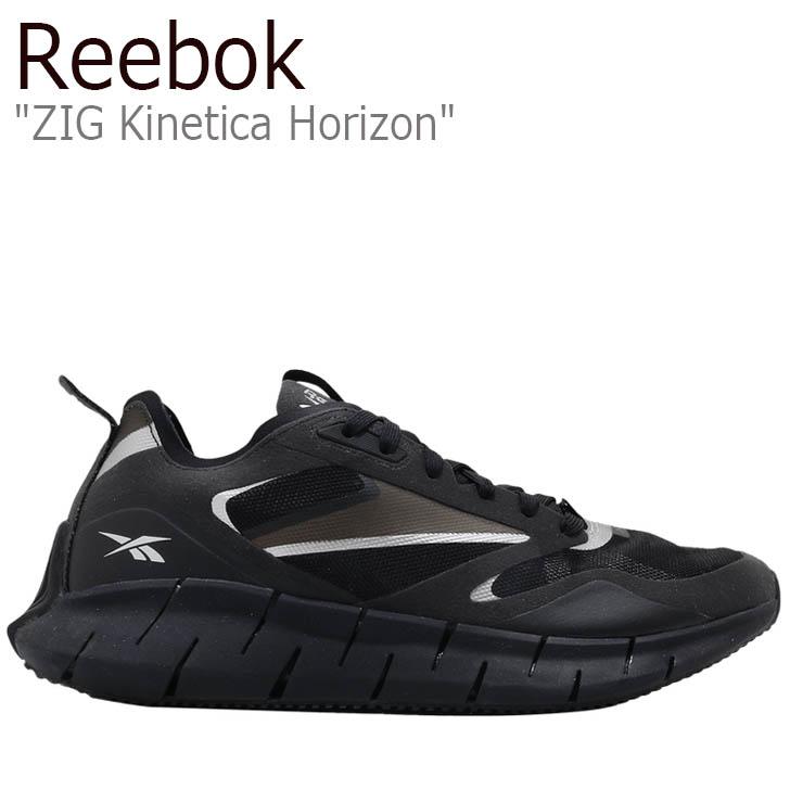 REEBOK BLACK シューズ FW5303 Horizon メンズ リーボック ジグ レディース ブラック スニーカー ZIG Kinetica キネティカ ホライズン