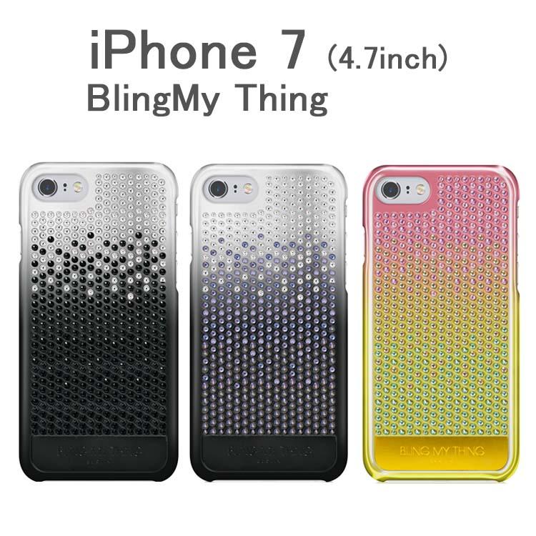 お取り寄せ iPhone8 iPhone7 ケース カバー BlingMy Thing Cascade Brilliant ケース カバー for iPhone 7 ケース スワロフスキー アイフォン7 アイフォン 7 ケース カバー