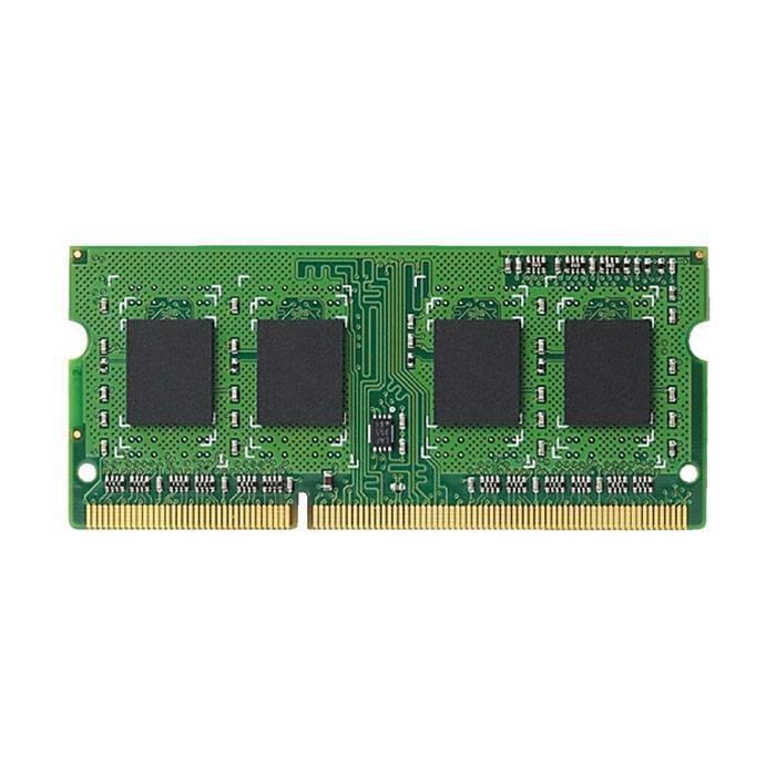 【沖縄・離島配送不可】法人専用 ノートPC/薄型デスクトップ用増設メモリ RoHS対応 DDR3L-1600 PC3L-12800 メモリモジュール 8GB エレコム EV1600L-N8G/RO
