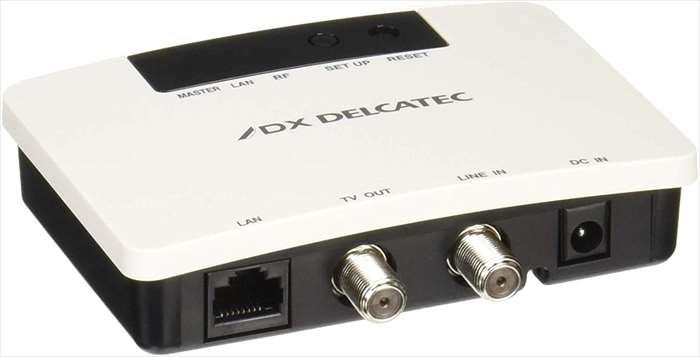 高速同軸モデム DXアンテナ デルカテック 同軸モデム PoE対応 自動登録 子機通信可能 エレコム EOC10C01