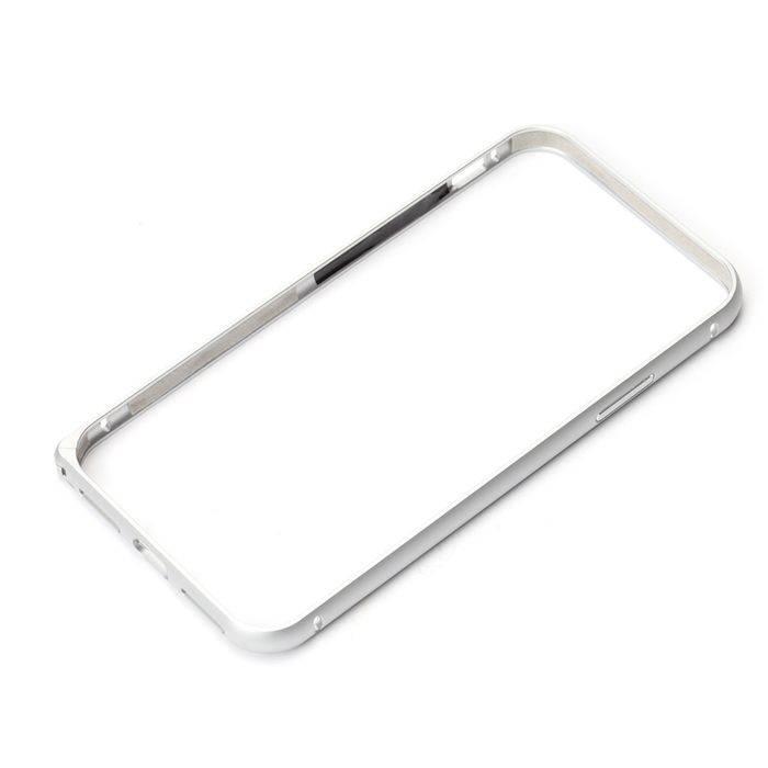 送料無料 ふるさと割 メール便出荷 特売 iPhoneX用ケース カバー iPhoneX 用 シルバー PGA PG-17XBP01SV アルミニウムバンパー