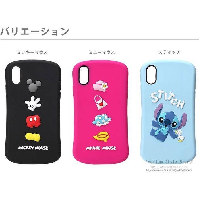 abc76c67be iPhone XR 6.1 インチ アイフォン テンアール 用 ケース カバー ソフト シリコンケース ディズニー Disney 8デザイン PGA  PG-DCS******