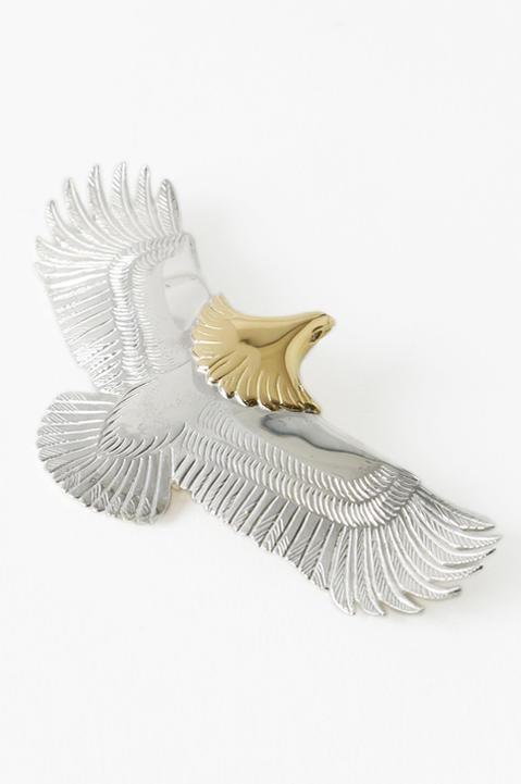 Lolo by TADY ロロバイタディ 大イーグルSV頭金 目パヴェダイヤ レディース メンズ eagle イーグル ペンダント ユニセックス アクセサリー loh-007k18