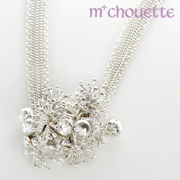 バブル ネックレス シルバー925 bubble motif silver925 necklace レディースネックレス 【送料無料】 プレゼント 母の日 ギフト