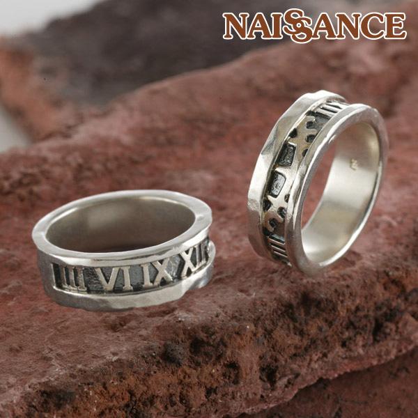 歯車 ペアリング 指輪 時を刻む ローマ数字【NAISSANCE】 プレゼント 母の日 ギフト