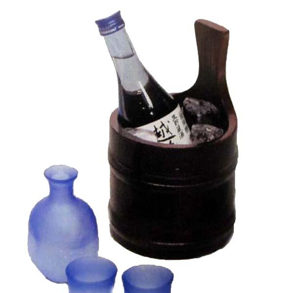『1年保証』 日本酒クーラー 酒器 清酒クーラー 茶 24-1 高級