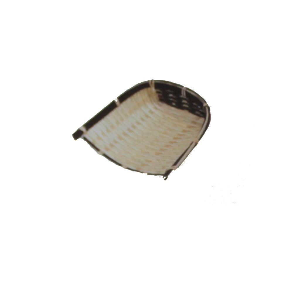 サービス 料理飾り箕のかご 料理かご 料理箕のかご クレハテミー コンパクト 10個 P111 注目ブランド 送料無料
