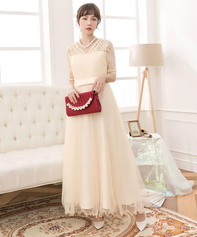 5ec567456e983 パーティードレスドレス結婚式お呼ばれワンピースオールインワンマキシ丈ロング結婚式ワンピース大きいサイズ