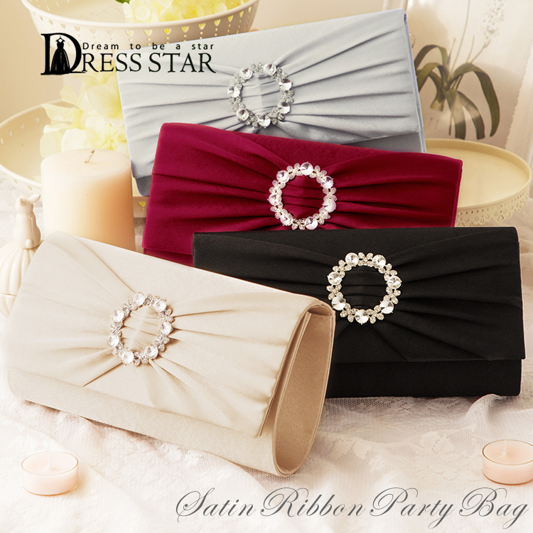 8a7de5240e Party bag size grain 2way clutch bag handbag bag party back clutch shoulder  satin Lady s wedding ceremony invite usual times FOMA Rudy Lee magnet party  ...