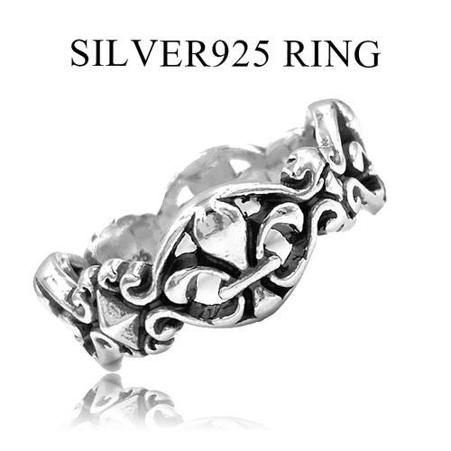 職人が1つ1つ丁寧に作り上げたリングです 送料無料 シルバー925 リング メンズ SILVER925 オープンフレアカット 個性的 レディース シンプル 在庫限り 指輪 アクセサリー BSフレア 18号 23号 百合の紋章 引き出物 美品