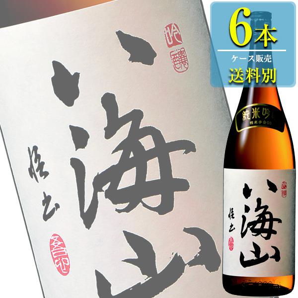 八海山醸造 八海山 純米吟醸 1800ml瓶 x6本ケース販売 (清酒) (日本酒) (新潟)
