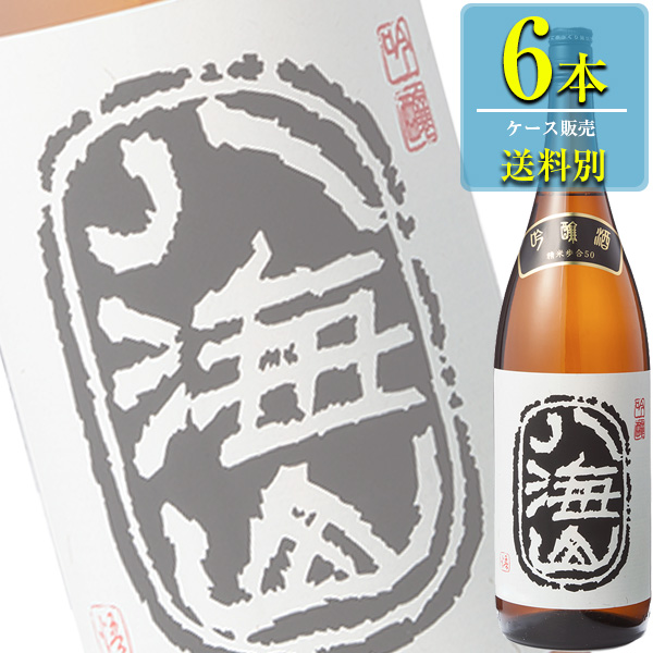 八海山醸造「八海山 吟醸」1.8L瓶x6本ケース販売【清酒】【日本酒】【新潟】