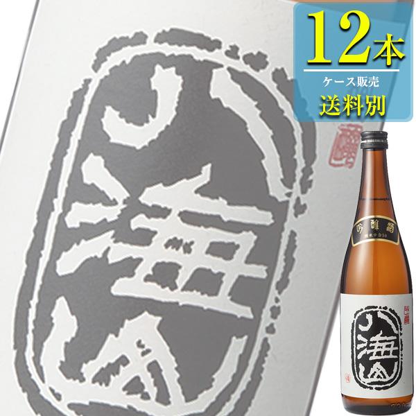 八海山醸造 八海山 吟醸 720ml瓶 x12本ケース販売 (清酒) (日本酒) (新潟)
