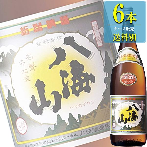 八海山醸造 八海山 金印 普通酒 1800ml瓶 x6本ケース販売 (清酒) (日本酒) (新潟)