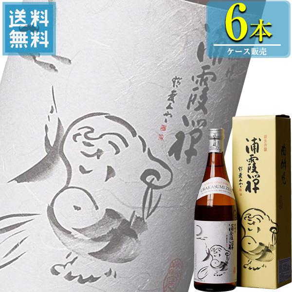 佐浦 浦霞禅 純米吟醸 720ml瓶 x 6本ケース販売 (清酒) (日本酒) (宮城)
