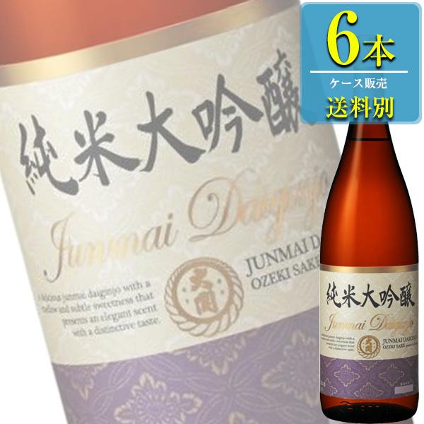 大関 特撰 大関 純米大吟醸 1800ml瓶 x6本ケース販売 (清酒) (日本酒) (兵庫)