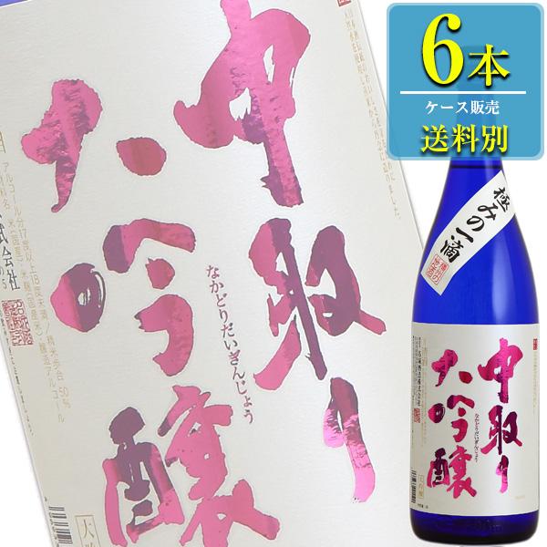 名城酒造 中取り大吟醸 1800ml瓶 x6本ケース販売 (清酒) (日本酒) (兵庫)