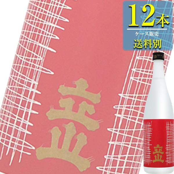 送料別:1ケースごとに1送料 同梱不可 立山酒造 送料無料カード決済可能 吟醸 立山 720ml瓶 清酒 日本酒 12本ケース販売 x 富山 買収
