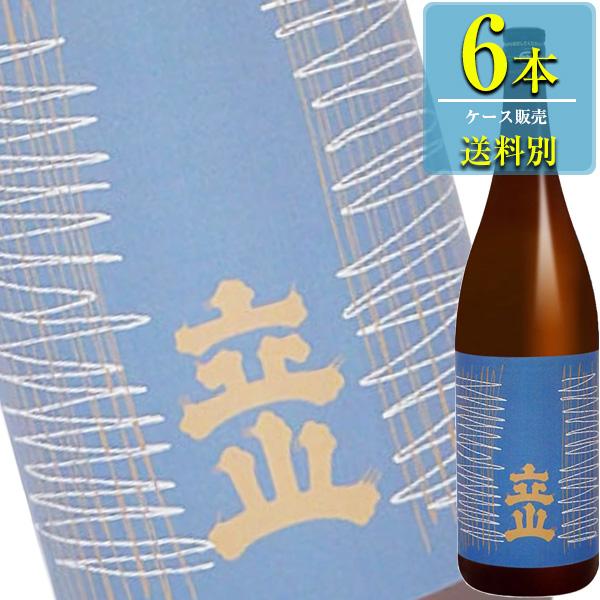 立山酒造 立山 特別本醸造 1800ml瓶 x6本ケース販売 (清酒) (日本酒) (富山)