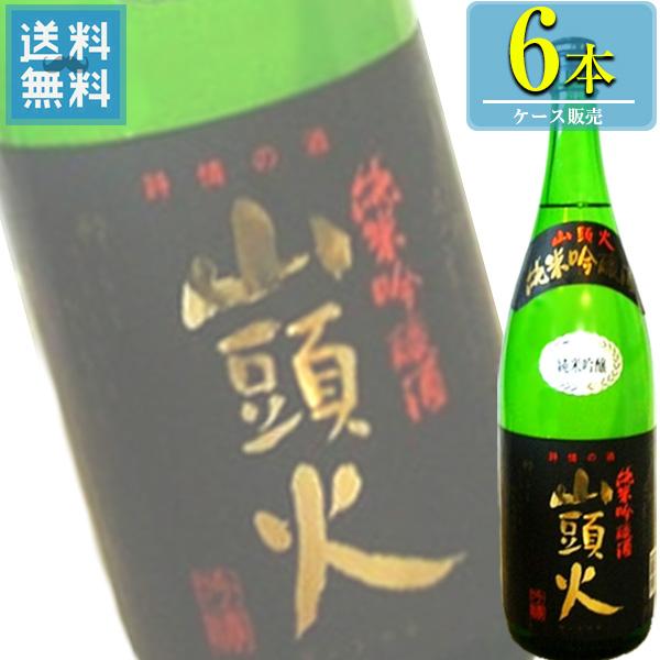 金光酒造 「詩情の酒 山頭火 純米吟醸」1.8L瓶x6本ケース販売 (清酒) (日本酒) (山口)