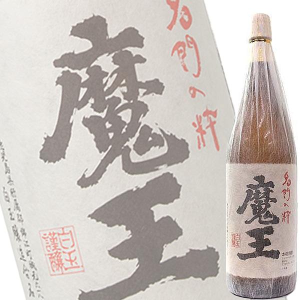 (単品) (プレミアム焼酎) 魔王 芋 25% 1800ml瓶 (白玉醸造) (本格芋焼酎) (鹿児島)
